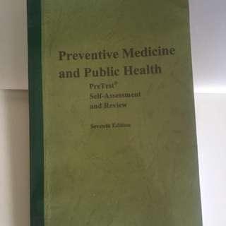 preventive medicine and public health pretest