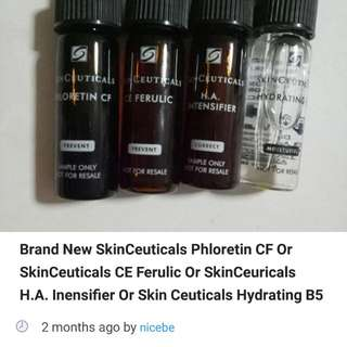 Buyer beware! Skinceuticals Vitamin C