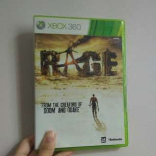 Rage XBox360 (Brand New - Sealed)