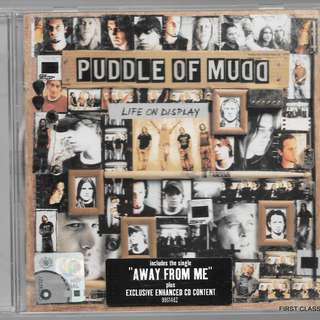 MY PRELOVED CD - PUDDLE OF MUDD- LIFE ON DISPLAY - /FREE DELIVERY (F7Q)