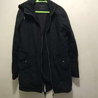 Jaket Parka Pull n Bear Authentic size M