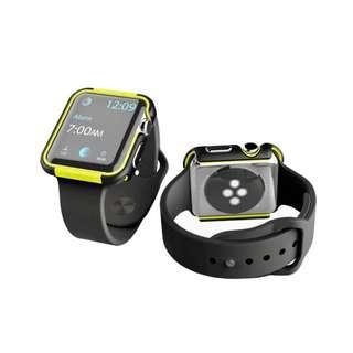 X-Doria Defense Edge Case for Apple Watch 42mm (BlackVolt)