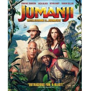 Jumanji- Welcome to The Jungle - Movie - 2017 - 1080p Resolution