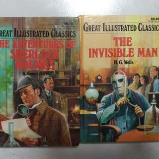Great Illustrated Classics - The Adventures of Sherlock Holmes, The Invisible Man