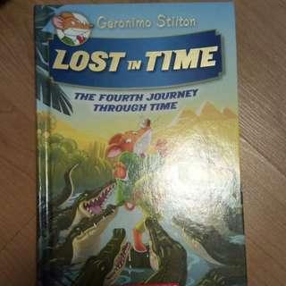 Geronimo Stilton Lost in Time #4