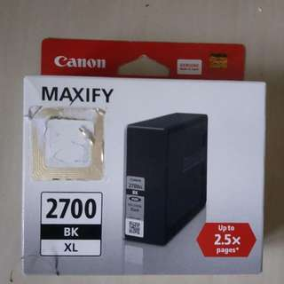 Canon Maxify 2700 Ink Cartridge ( Made in Japan) BK XL series