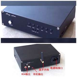 Bluetooth 4.2 Lossless Player PC USB DAC Audio Decoding with Headphone