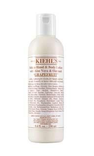 Kiehl's Deluxe Hand & Body Lotion with Aloe Vera & Oatmeal 250ml/8.4oz