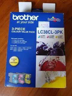 Brother Ink Cartridge (3 Colours)