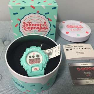 全新 G-shock X Johnny Cupcake GD-X6900JC