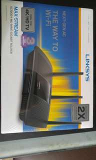 LINKSYS ROUTER MAX-STREAM AC1900