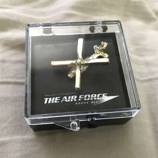 Air Force Mini Helicopter Model