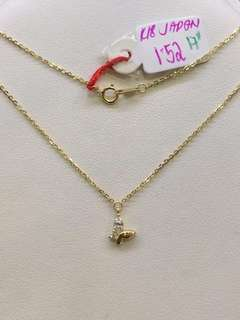 pawnable!! 18k japan gold necklace