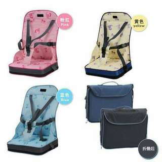 Baby out eating safety chair bag