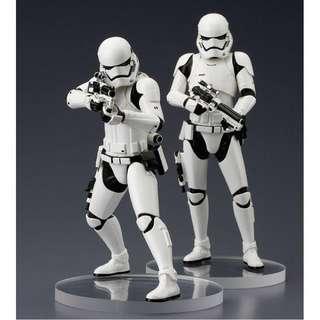 Star Wars First Order Storm Trooper 2 Pack