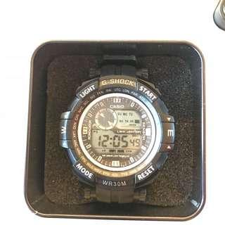 Repriced!!! G-shock waterproof (black)