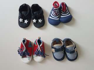 Baby Shoes - soft sole (prewalker stage)