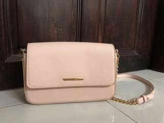Nude Color Sling Bag