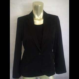Zara Black Blazer Size M