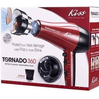 KISS Tornado 360 Ionic Hair Dryer