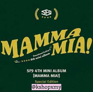 SF9 4th Mini Album - ' Mamma Mia ! ' Special Edition