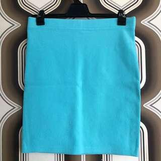 FOREVER 21 Tiffany Blue bodycon SKIRT