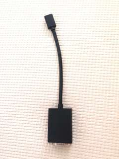 Mini Displayport to VGA Adaptor