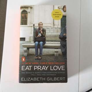 Eat pray love by Elizabeth gilbert