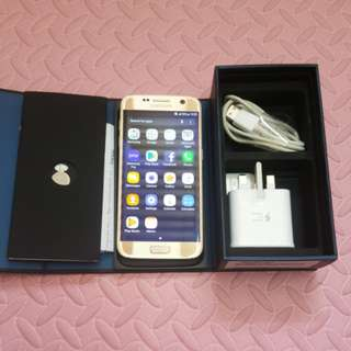 s7 99.9% new condition  full box set 32gb
