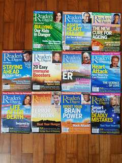 Reader's Digest Feb03 to Oct05 (33 issues)