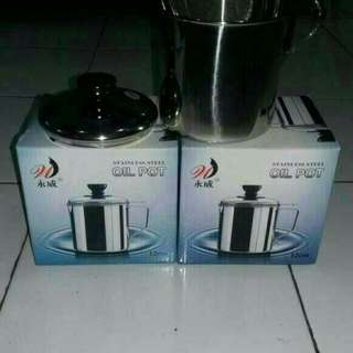 OIL Pot Stainless Steel