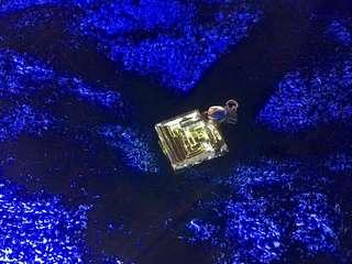 彩虹結晶/命運石項鍊 (鉍結晶)(禮物)