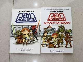 STAR WARS JEDI ACADEMY books