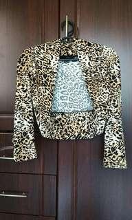 Animal Printed Vest/Chaleco