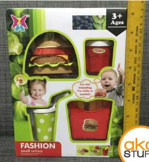 Burger set toys