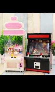 Ufo catcher / Arcade Machine Nanoblock - Street fighter Hello kitty Melody
