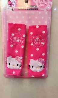 Hello kitty seat belt cover