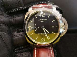 BRAND NEW PANERAI Luminor Marina,  3 Days, 72 hrs Power Reserve GMT, PAM 320, Dated Sept  2017 Automatic, 44mm Mens Watch