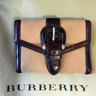 Burberry銀包