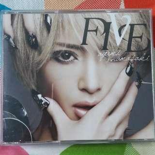 Ayumi Hamasaki Five CD