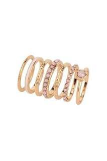 Rings (Pink Set)