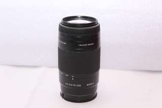 SONY 75-300mm F4.5-5.6 ( A mount)