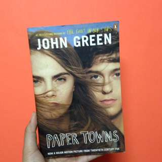 Pre-loved❤️ Paper Towns📍