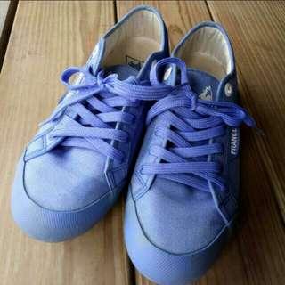 le Coq Sportif 寶藍色公雞鞋France 1882