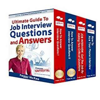 Ultimate Guide to Job Interview Questions and Answers Kindle Edition by Peggy McKee  (Author)