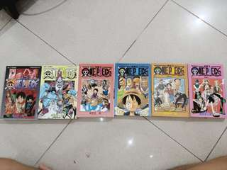ONE PIECE VOLUMES IN JAPANESE