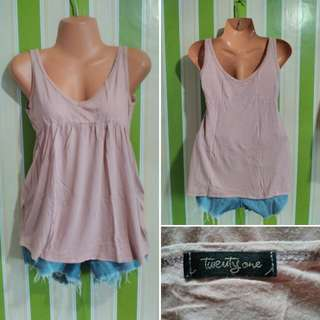 Forever 21 pastel top