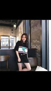 (PO) ulzzang print street style top