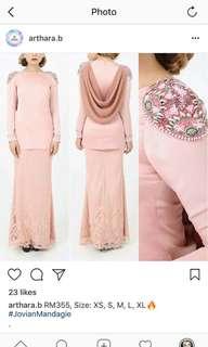 Jovian kurung new with tag