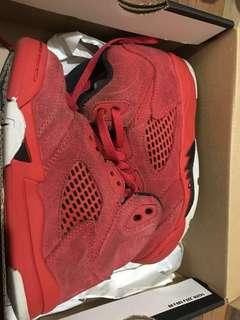Jordan 5 - University Red